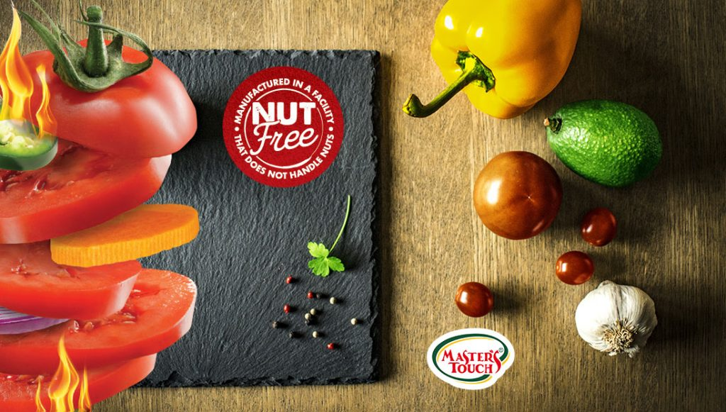 Quality, taste and healthy. Manufactured free-nuts
